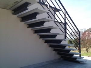 Escalier suspendu 2 Annecy le vieux - Lugaz
