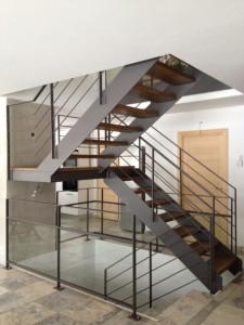 escalier double limons 15 Valleiry - lugaz
