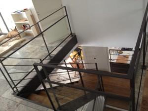 escalier double limons 18 Valleiry - lugaz
