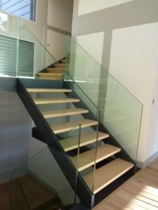 escalier double limons 27 Menthon st bernard - lugaz