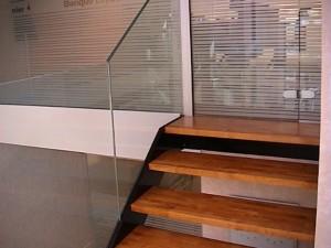escalier double limons 38 Aix les bains - lugaz