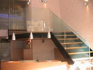 escalier double limons 39 Aix les bains - lugaz