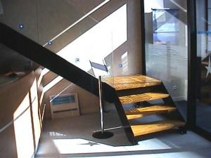 escalier double limons 40 Aix les bains - lugaz
