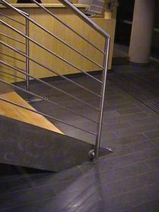 escalier double limons 43 Annecy centre courrier - lugaz