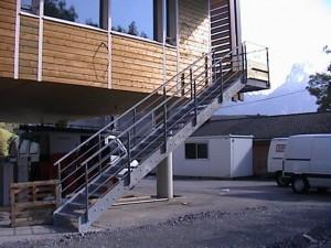 escalier double limons 49 Ecole de Dingy - lugaz