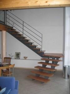 escalier double limons 51 Chavanod - lugaz
