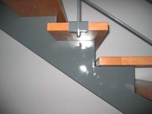 escalier double limons 53 Chavanod - lugaz