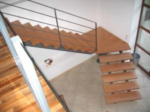escalier double limons 54 Chavanod - lugaz