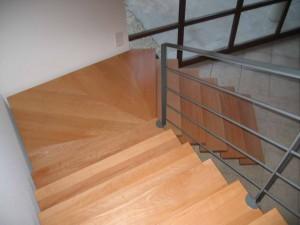 escalier double limons 55 Chavanod - lugaz