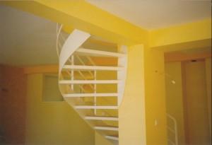 escalier double limons 56 Genève - lugaz