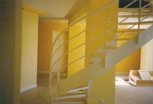 escalier double limons 57 Genève - lugaz
