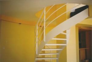 escalier double limons 58 Genève - lugaz