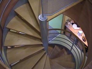 escalier hélicoïdaux 13 Gîtes de France-lugaz