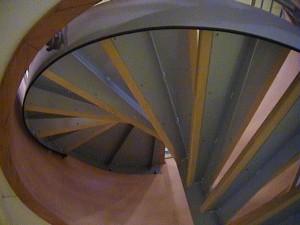 escalier hélicoïdaux 14 Gîtes de France-lugaz