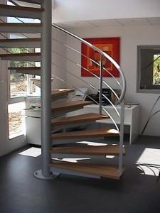 escalier hélicoïdaux 3  Bout du lac-lugaz