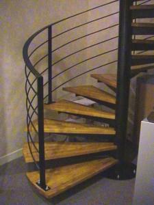 escalier hélicoïdaux 5  Aix les Bains-lugaz