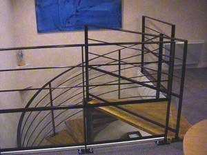 escalier hélicoïdaux 7  Aix les Bains-lugaz