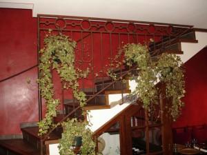 garde corps fer forge 12 restaurant l'Olivier