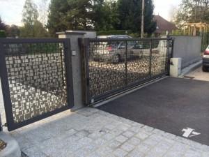 portail acier 12 Annecy le vieux