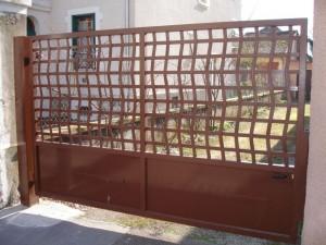 portail acier 7 Annecy centre