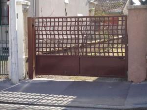 portail acier 8 Annecy centre
