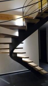escalier fut central 17 Saint ours - Lugaz annecy