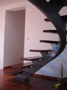 escalier fut central 57 St Martin bellevue - Lugaz annecy