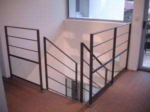 escalier fut central 59 St Martin bellevue - Lugaz annecy