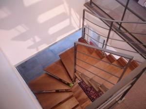 escalier fut central 60 St Martin bellevue - Lugaz annecy